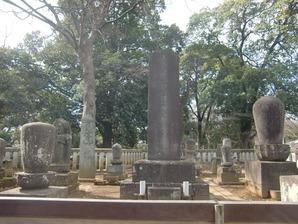 天海僧正墓碑
