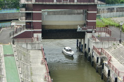 荒川ロックゲート通船