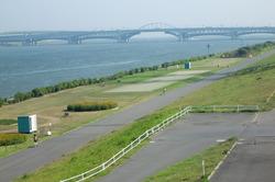 荒川CRと河口橋