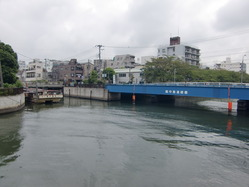 大島川と合流