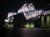 ゲートブリッジ点灯2