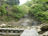 粟又の滝下