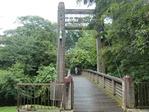 かわいい吊橋
