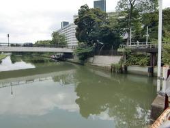 垳川からの取水部
