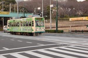 路面電車のある風景