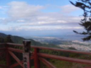 ケーブル山頂