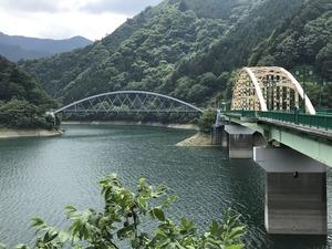 深山橋と三頭橋