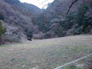 鎌北湖堰堤