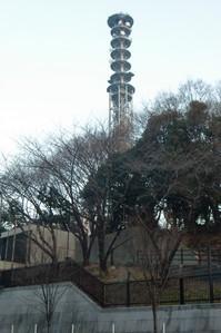 市ヶ谷の通信塔
