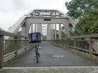 水道橋を渡る