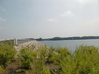 村山下ダムと多摩湖