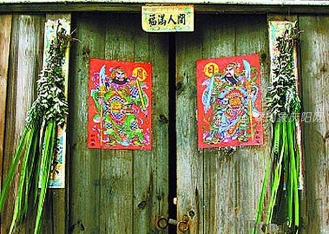 艾草和菖蒲