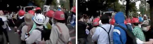 動画】ジグザグ会がジグザグデモしているところ by ネオリベにゃんきち
