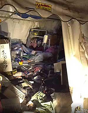 経産省前テントひろば ネトウヨからの襲撃に声明