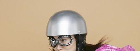 これぞ安全安心?ヘルメットご用意できます(^_^)