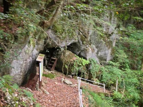 羅漢穴の入口