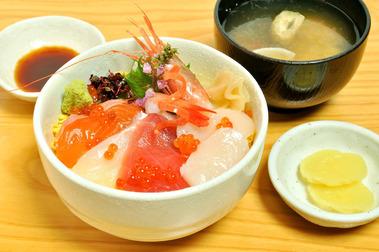 十福特製ミニ海鮮丼
