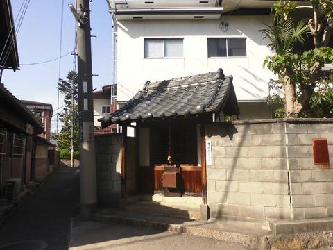 00357 地蔵 -大阪府大東市氷野-