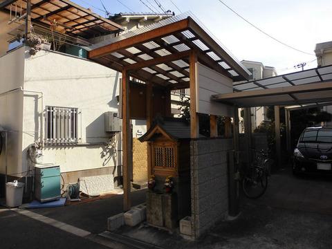 00251 地蔵 -大阪府大阪市城東区中浜-