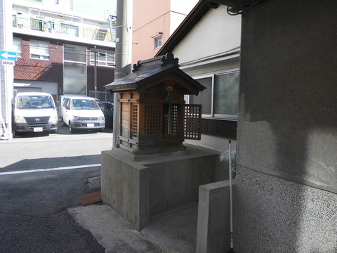 00248 西向地蔵尊 -大阪府大阪市東成区中道-