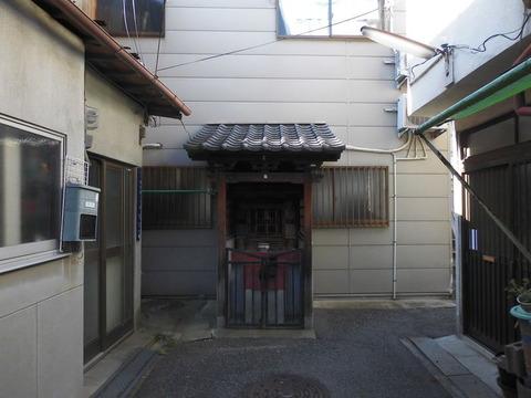 00374 地蔵 -大阪府大阪市西成区鶴見橋-