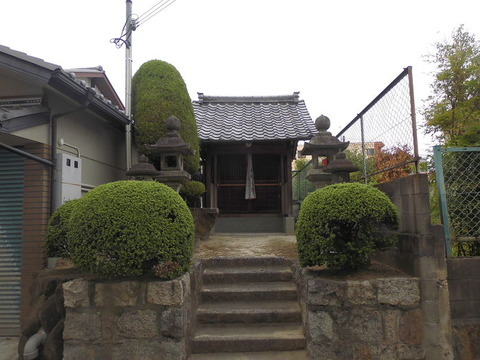 00351 地蔵尊 -大阪府大東市南津の辺町-