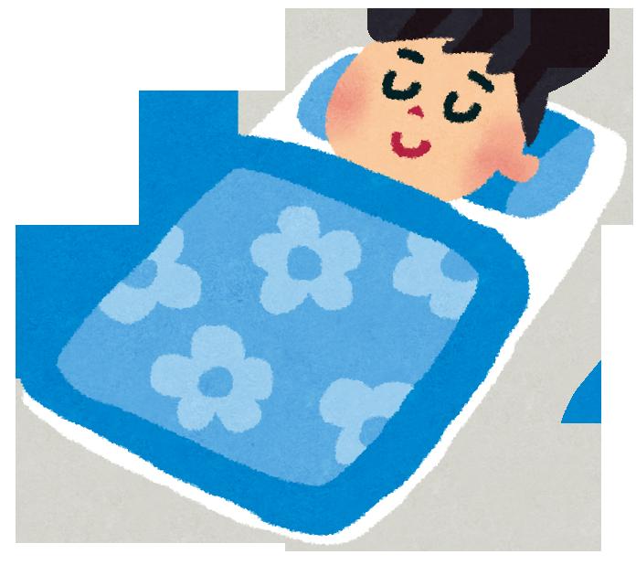 「仰向け 睡眠イラスト」の画像検索結果