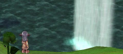幹の滝>華厳の滝