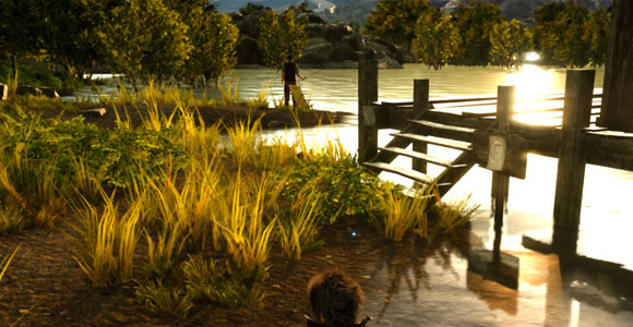 FF15「ファイナルファンタジーXV」のサブクエスト「同好の師」紹介。ダスカ地方のニグリス湖で発生するネイヴィスシリーズ1つめ。釣りレベル上げのついでに、目的の