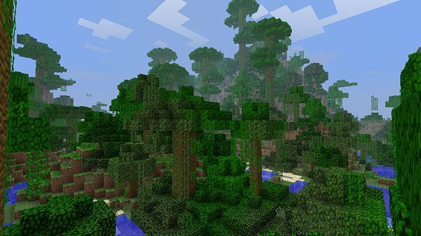 方 見つけ マイクラ ジャングル