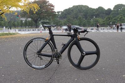 自転車の 自転車 tt 練習 : では家から10km超えると中華TT ...