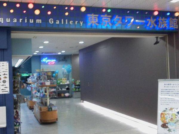 東京タワー水族館1