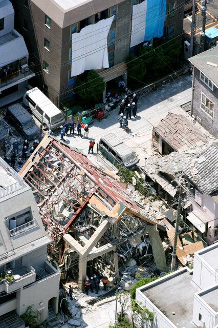 渋谷シエスパ爆発事故の跡地 (3)