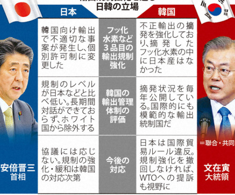 韓国「ホワイト国除外による海外の反応」 (6)