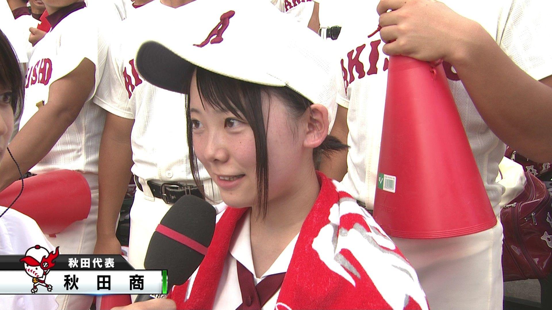広島新庄高校のチアがかわいい・・。野球 ...