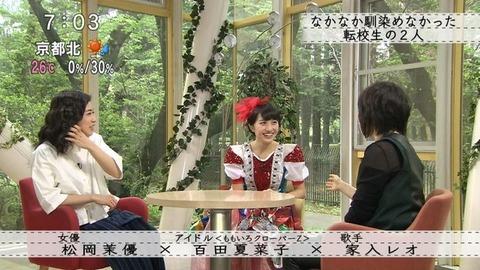 松岡茉優 腹筋2