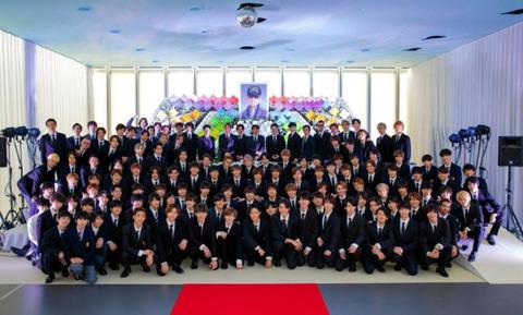 ジャニー喜多川 家族葬 (2)