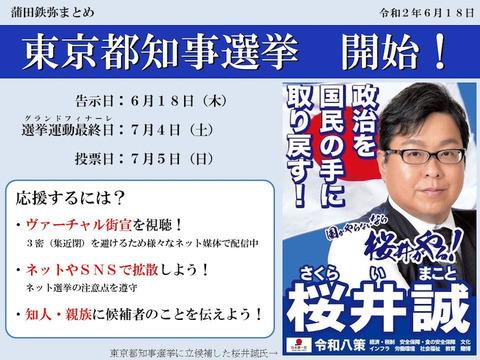 桜井誠こと高田誠の都知事選挙カー襲撃事件 (3)