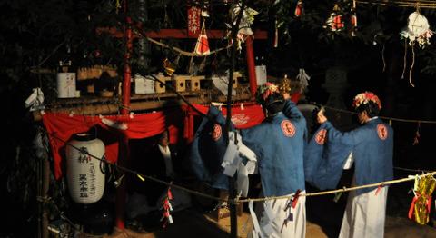 ポツンと一軒家「宮崎の狭上稲荷神社 (5)