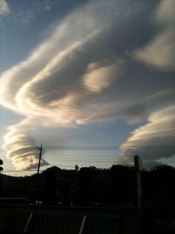 レンズ雲1