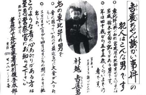 平塚八兵衛の冤罪」吉展ちゃん事件犯人 (1)