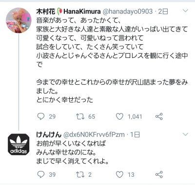 木村花 twitter けんけん (2)