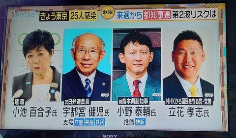 桜井誠こと高田誠の都知事選挙カー襲撃事件 (1)
