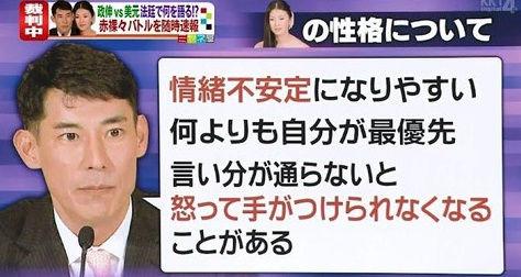 美元と高嶋政伸の離婚理由 (2)