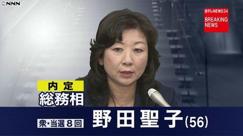 野田聖子 文春2