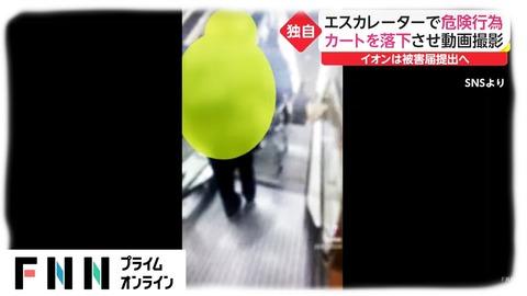 イオンカート落下犯人特定 (3)