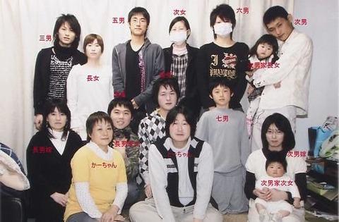 石田さんちの大家族2020長女や三男 (11)