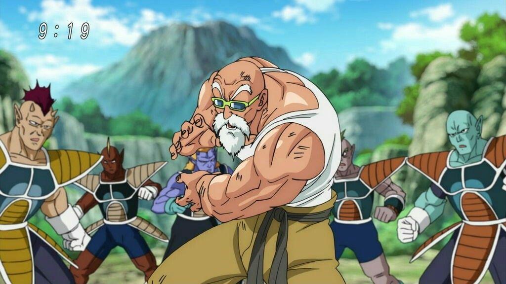 【画像】漫画版DB超、亀仙人が覚醒して最強キャラへwwwwwwww
