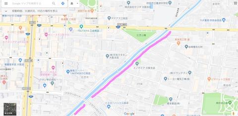 糸田川桜江坂側