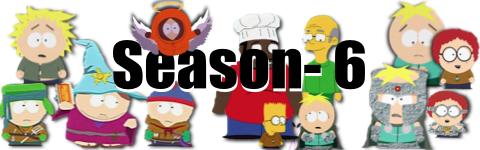 サウスパーク season6 バナー